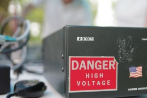 High Voltage Radio