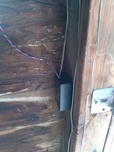 Power/switch box inside