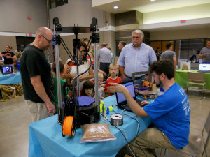 MakeFest_2015-22 -- 3D Printer Exhibit